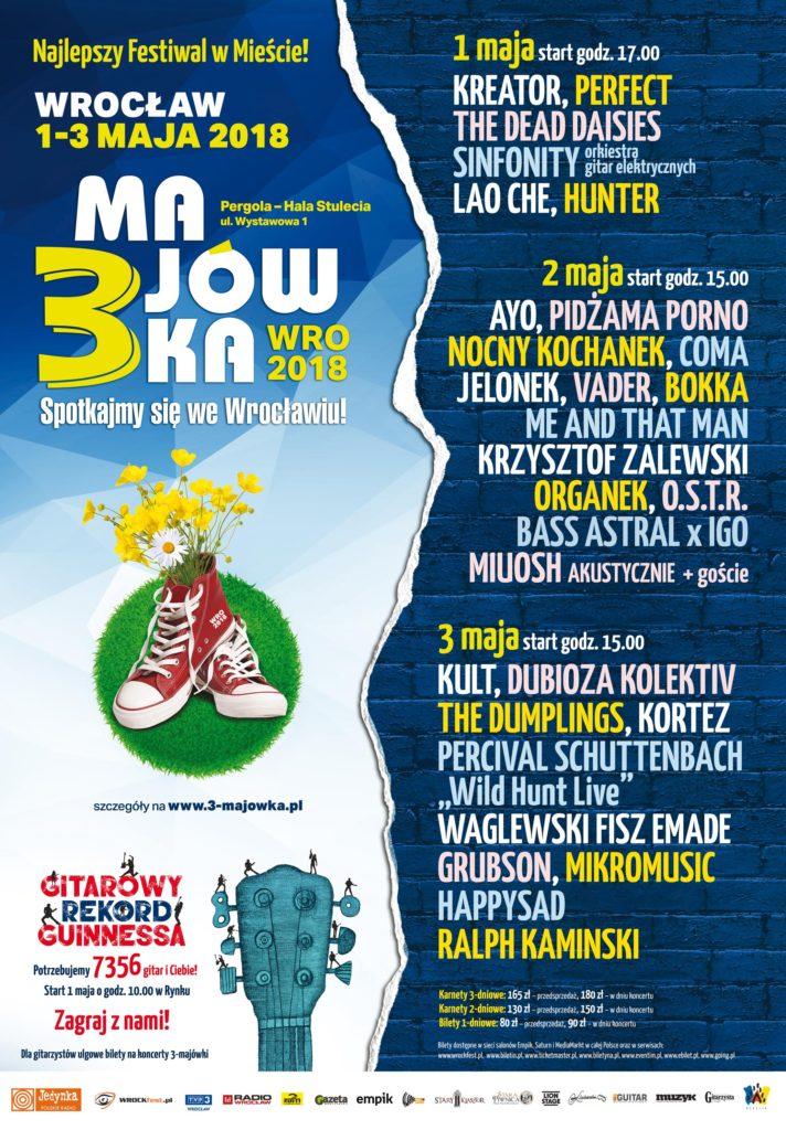 Festiwal 3-Majówka we Wrocławiu